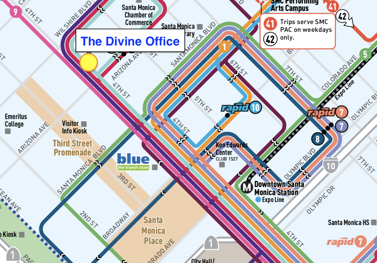 Bus Access to The Divine Office
